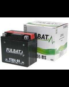 Accu Fulbat YTX5L-BS MF 12V 4Ah (FB-550618)