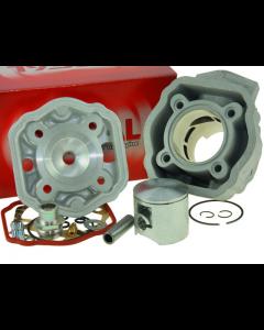 Cilinder Airsal / Eurokit - 80 cc - Vertex zuiger - Derbi & Gilera Schakel (Vanaf 2006) (AIR-01084350)