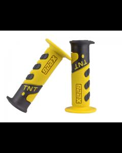 Handvatset TNT - Cross 922 X- Zwart / Geel (TNT-344199E)