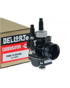 Carburateur Dell'Orto - 19 mm PHBG DS Racing - Kabelchoke en vacuüm (DEL-2695)