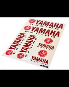 Stickerset - Yamaha Racing - 6 delig - 33 x 23 cm (FAL-982040)