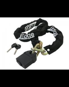 Kettingslot Edge - Zwart - 150 cm (EDG-500105)