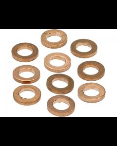 Koperenring 6x10mm 10 stuks (MOK-10150)