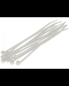 Kabelbinders / Tie Rib - Naturel - 4,8 x 200 mm - 100 Stuks (UNI-00312)