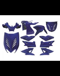 Kappenset 11 delig DMP - Yamaha Aerox - Rossi Blauw (DMP-24611)