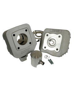 Cilinder Stage6 - 50 cc - Aluminium - Peugeot Verticaal - Luchtgekoeld - Pen 12 (S6-7017500/A)