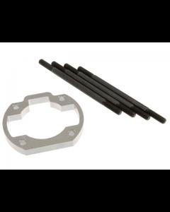 Ophoogplaat Stage6 - 10 mm - Inclusief Tapeinden - Minarelli Horizontaal (S6-79166ET02)
