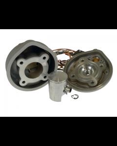 Cilinder Stage6 - 50 cc - Aluminium - Gilera & Piaggio - Watergekoeld - Pen 12 (S6-7014001/A)