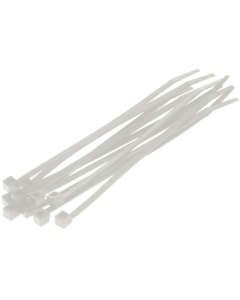Kabelbinders / Tie Rib - Naturel - 3,6 x 140 mm - 100 Stuks (UNI-00306)