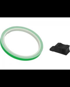 Velgstriping Pro Grip - 7mm x 6m - Groen Fluoriserend (PRO-5025-G)