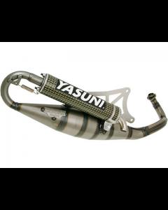 Uitlaat Yasuni R Kevlar Piaggio 2 Takt (YAS-TUB420CK)