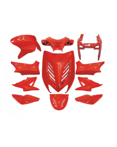 Kappenset 11 delig DMP - Yamaha Aerox - Rood (DMP-24245)