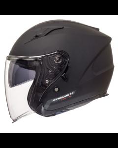 Helm MT Avenue Mat zwart Maat XS (MT-105100033)