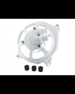 Waterpomp deksel STR - Extrememe Cut - Minarelli Horizontaal - Wit (STR-500.51/WH)