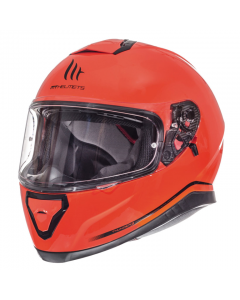 Helm MT Thunder III Fluor oranje Maat XXL (MT-105500078)