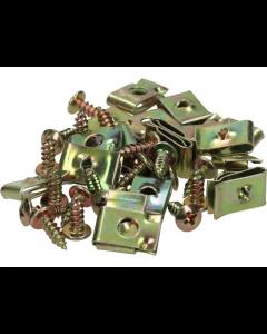 Speednut + schroefset TNT 4x10mm 20 stuks (TNT-170900)