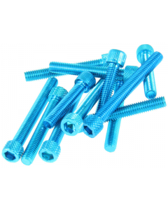 DMP Carterboutset - Kymco - Aluminium - Blauw (DMP-135752)