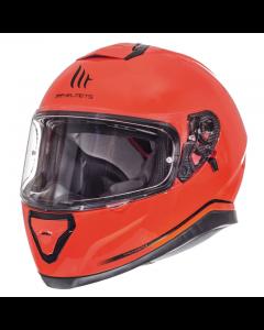 Helm MT Thunder III Fluor oranje Maat M (MT-105500075)