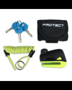 Schijfremslot Pro-tect Disq Mini (PRT-419255.YEL)