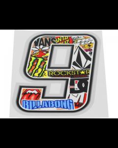 Stickerbomb sticker #9 10cm (T4T-050279)