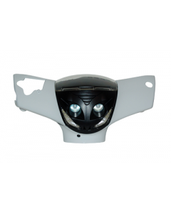Koplamp Piaggio Zip 2000 Halogeen + Led zwart (DMP-41539)
