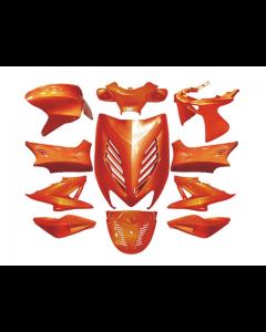 Kappenset 11 delig DMP - Yamaha Aerox - Oranje Metallic (DMP-24247)
