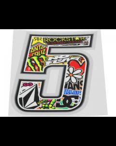 Stickerbomb sticker #5 10cm (T4T-050275)