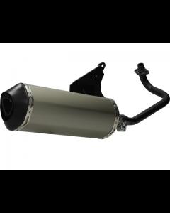Uitlaat Jamarcol aluminium Vespa 50cc 4 Takt 4V (JAM-38512)