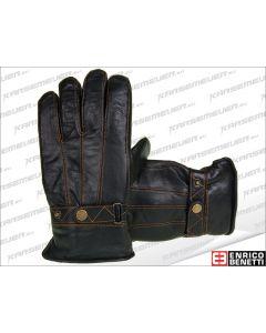 Handschoenen Enrico Benetti - Leer - Zwart (EB-12147*)