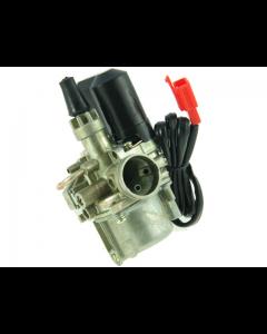 Carburateur DMP - 12,5 mm - Standaard - Honda / Kymco / Peugeot - Inclusief elektrische choke (DMP-3302)