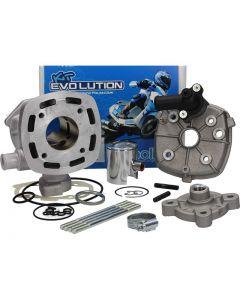 Cilinder Polini - 50cc. - Evolution - Peugeot Horizontaal - Watergekoeld (POL-142.0157)