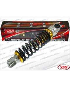 Schokbreker YSS - E Serie - Gasgevuld - Zwart / Goud - 280 mm (YSS-123101)